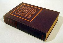 Lot 3097: Ben Hecht ERIK DORN 1921 Author-Signed First Edition Antique Debut Novel American Literature