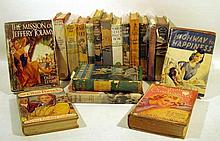 Lot 3098: 18V Romance Mystery ANTIQUE FICTION IN DUST JACKETS Thriller Robert Pinkerton Travel Africa MGM Serpent in the Garden Illustrated Pulp Frontier Pioneer Risque