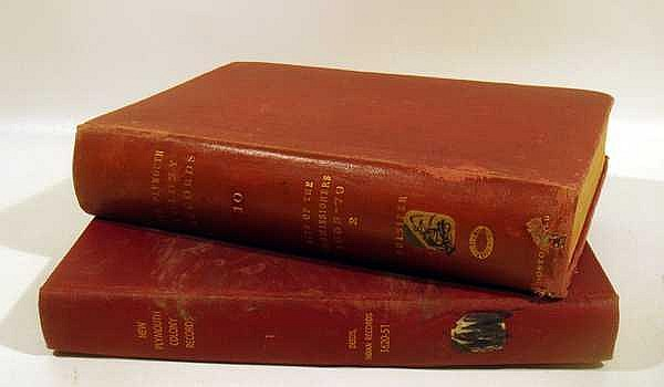 2V David Pulsifer RECORDS OF THE COLONY OF NEW PLYMOUTH IN NEW ENGLAND 1861/1859 Antique American History Indian Records Acts Of Commissioners