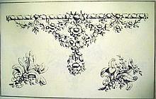 Lot 3119: RECUEILL DE DOCUMENTS D'ART DECORATIF c1920 Antique French Decorative Arts Loose Plates In Portfolio