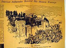 Lot 3089: 12V VINTAGE WORKS OF WASHINGTON IRVING Alhambra Captain Bonneville Salmagundi Chronicle of the Conquest of Granada Bracebridge Hall Uniformly Bound Standard Library Edition Gilt Lettering Decorative