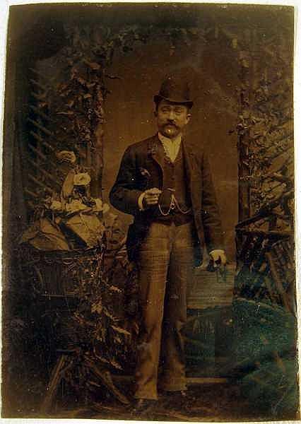 Lot 3088: CDV's Brooklyn ANTIQUE PHOTOGRAPHS New York Cabinet Cards Carte-De-Vistes Portraiture Hand-Tinted Tintype Dog Wagon Class Photograph Period Costuming