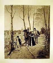 Lot 3084: Art Photogravures European Painting SOCIETY OF FRENCH AQUARELLISTS Artist Biography Dore Leloir Worms Lambert Lemaire Isabey