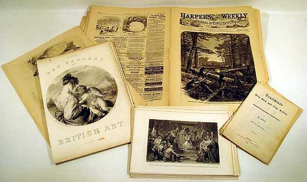 Civil War Harper's Weekly ANTIQUE LITHOGRAPHS German Period Costuming Antiquity Mythology History Rome Marie Antoinette Battle Of Hastings