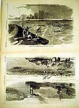 Lot 3171: Civil War Harper's Weekly ANTIQUE LITHOGRAPHS German Period Costuming Antiquity Mythology History Rome Marie Antoinette Battle Of Hastings