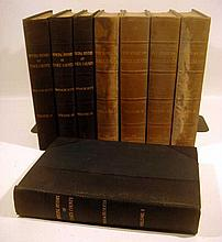 Lot 3127: 8V New England HISTORY OF ESSEX COUNTY, MASSACHUSETTS Municipal American Historical Society Lewis Three Quarter Leather Bound
