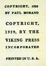 Lot 3006: Paul Morand BLACK MAGIC 1929 First US Edition Antique Travel Sub-Saharan Africa Aaron Douglas Illustrations In Scarce Illustrated Dust Jacket