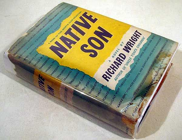 Richard Wright NATIVE SON 1940 Author-Signed First Edition In Scarce Dust Jacket Novel Chicago South Side African-American Literature