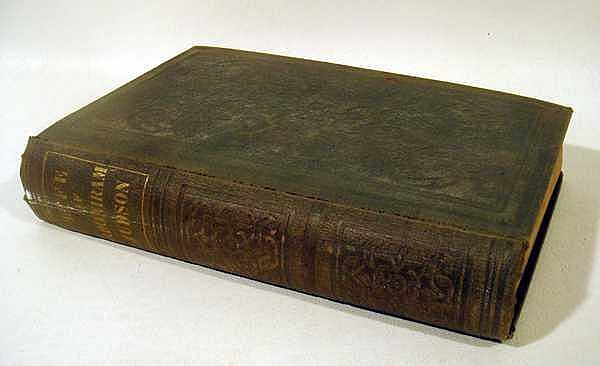 Jesse Clement MEMOIR OF ADONIRAM JUDSON BEING A SKETCH OF HIS LIFE AND MISSIONARY LABORS 1851 First Edition Antique Theology India Burma Decorative Binding