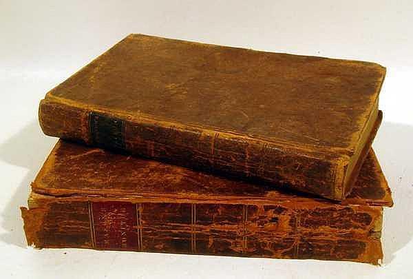 2V Smith Webb / Hardie THE FREEMASON'S MONITOR / THE NEW FREE-MASON'S MONITOR 1816/1819 Antique Masonic Reference Salem & New York Imprints