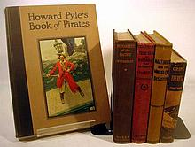 Lot 3038: 5V Pirates Everest Snaith DECORATIVE ANTIQUE HISTORY Natural Disaster Martinique Howard Pyle St Vincent Calamity Wycherley Pacific Buccaneers