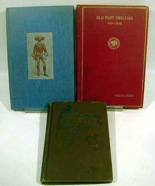 Lot 3036: 5V Godrey Diary Little Big Horn Custer Wilcox Poems ANTIQUE MILITARY HISTORY Hansen Fort Snelling Manderson Twin Seven Shooters Iowa Civil War Monuments