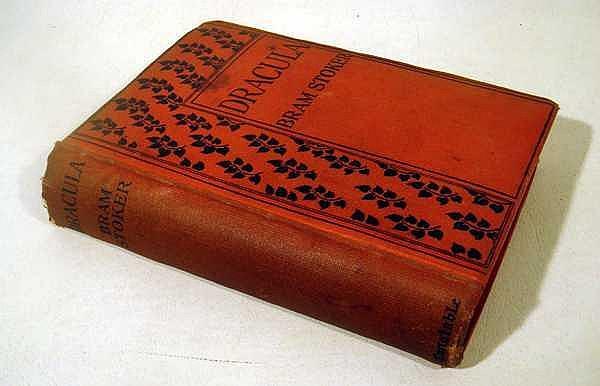 Bram Stoker DRACULA 1904 Antique Classic Gothic Horror Novel Vampire Transylvania Van Helsing Archibald Constable Edition