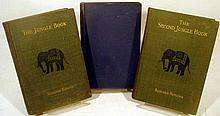 Lot 3108: 7V Kipling Jungle Book DECORATIVE ANTIQUE CHILDREN'S BOOKS Rollo's Tour Europe Dickens History Of England Jack & Jill Mary Frances Sewing Fold-Out Patterns Illustrations Plates