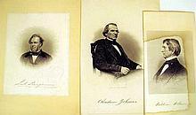 Lot 3107: Harper's Weekly ANTIQUE CIVIL WAR EPHEMERA & PRINTS Fredericksburg Battle Map Lithographs James Longstreet Generals Officers Naval Lincoln Sherman Politicians