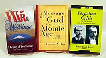 Lot 3103: 8V McCain Faith Of Fathers AUTHOR-SIGNED HISTORY Dreifus Interview Brown Lies Vilar Atomic Age Yellin War Tabouis Memoirs Kaplan Crisis Hosmer Delight