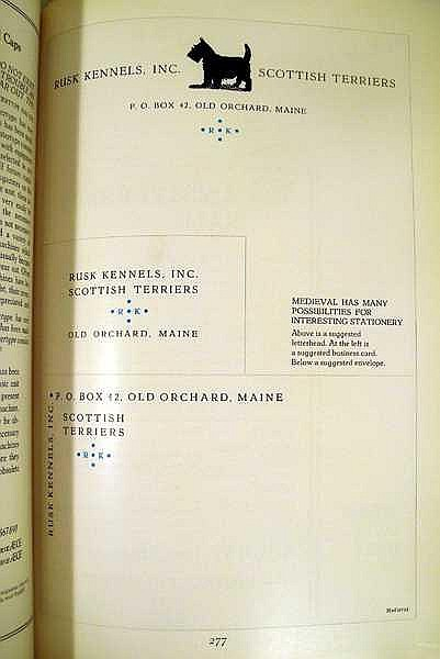 Lot 3199: THE BOOK OF INTERTYPE FACES 1932 First Edition Antique Printing Specimens One-Line Examples Advertising Job Composition