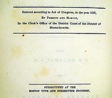 Lot 3011: Cicero / Charles Knapp Dillaway M T CICERONIS DE OFFICIIS LIBRI TRES EX EDITIONIBUS OLIVETI ET ERNESTI 1837 First Edition Latin Literature Classical Antiquity Commentary