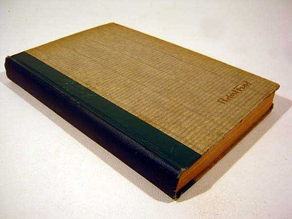 Robert Frost SELECTED POEMS 1928 First Printing American Literature Pulitzer Prize-Winning Author Rural New England
