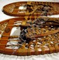 2 Pr. Traditional WOODEN SNOWSHOES Abercrombie & Fitch L.L. Bean Bear Paw Beavertail