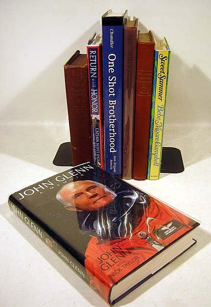 8V Signed Franklin O'Grady One Shot Brotherhood Venth Memories AMERICAN HISTORY Signed Kirk Douglas Glenn Memoir Campbell