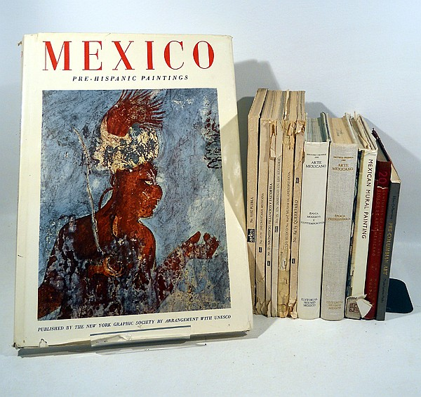 12v pre columbian history of mexican art mural painting arch for Arte mural mexicano
