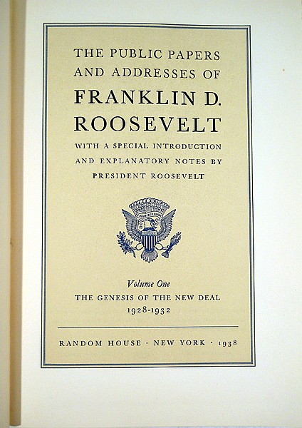 franklin d roosevelt essay paper At the time of her death in 1962 mrs roosevelt's papers totaled three million pages during her tenure at the library (1961-1969) franklin d roosevelt presidential library roosevelt and his library, part 1.