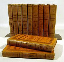 11V William Thomas Lowndes THE BIBLIOGRAPHER'S MANUAL OF ENGLISH LITERATURE 1857-1864 Antique Printing History Rarities Critical Notices