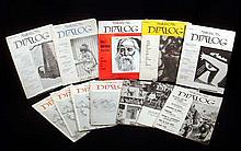 12V Vintage Magazines AMERICAN DIALOG Left-Wing Cultural Journal Marxism African-American Martin Luther King Race Relations Civil Rights Walt Whitman Ernest Hemingway