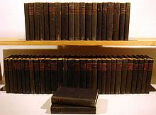 50V Anthony Trollope WORKS 1858-1883 Antique Novels Bernard Tauchnitz Collection Of British Authors Victorian English Literature