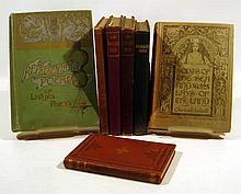 7V Decorative Bindings ANTIQUE POETRY Charles Leland Anacreontics Confucius Princeton Poets Songs & Lays