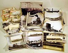 Vintage Collectible TRAIN, LOCOMOTIVE & TROLLEY PHOTOGRAPHS Railroads Steam Diesel Electric Engines Detroit Cleveland Erie Main Central Missouri Pacific