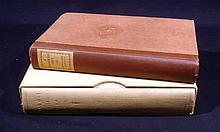 2V  Tomlinson / Newton ALL OUR YESTERDAYS / A MAGNIFICENT FARCE AND OTHER DIVERSIONS 1921 Author-Signed Limited Editions Decorative Bindings Plates