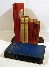 9V Books on Books Antique BRITISH LITERARY HISTORY Thomas Lovell Beddoes Lynn Linton Poetical Decameron Elizabethan Poets Lady Byron Vindicated Harriett Beecher Stowe Dickens' Doctors Keats Shelley
