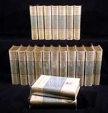 20V Thomas Carlyle COMPLETE WORKS 1884 Limited Edition Antique European History Literary History Essays Portrait Plates Maps Decorative Binding