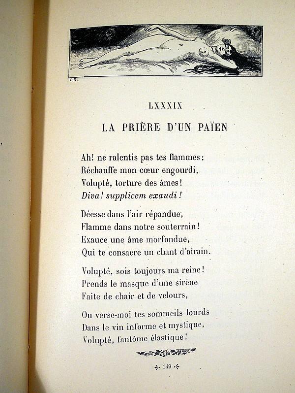 Charles Baudelaire LES FLEURS DU MAL 1917 Antique French ...