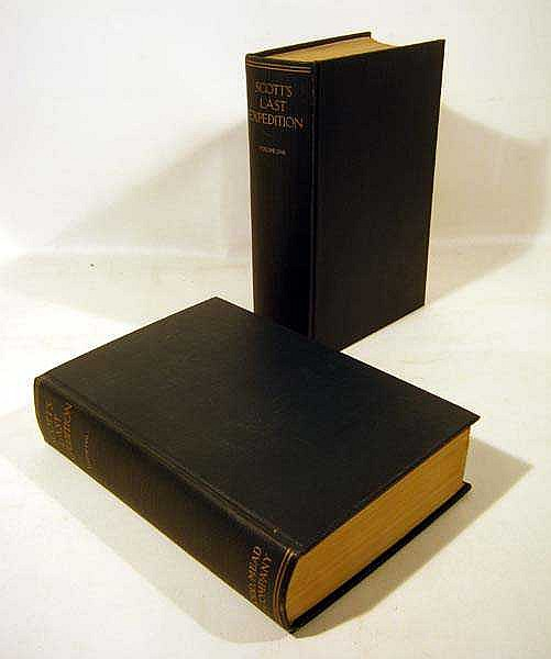 2V SCOTT'S LAST EXPEDITION 1913 First Edition