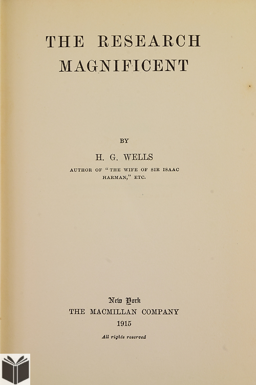 a biography of herbert george wells an english writer Herbert george wells (21 september 1866 – 13 august 1946) was an english author, best known for his work in the science fiction genre dr helen magnus and, it is.