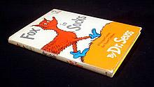 Dr Seuss FOX IN SOCKS 1965 First Printing Vintage Children's Literature Tongue Twisters Alphabet