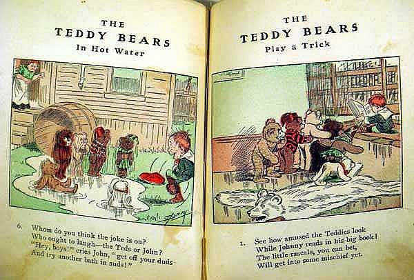 6v Antique Vintage History Of Cartoons Comics Caricature