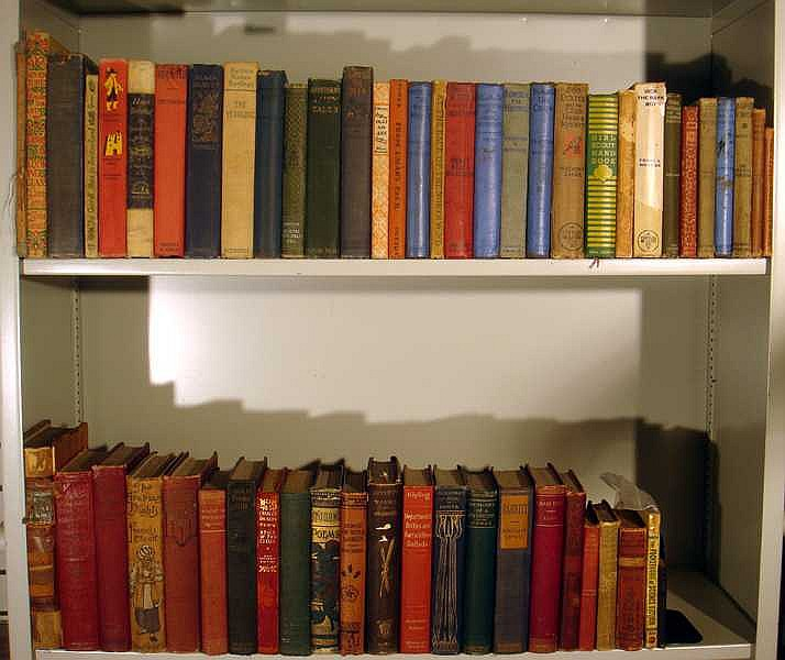 Pope Rawlings VINTAGE & ANTIQUE LITERATURE & CHILDREN'S BOOKS Yearling Overall Boys Switzerland Seven Gables Poetry Arabian Nights