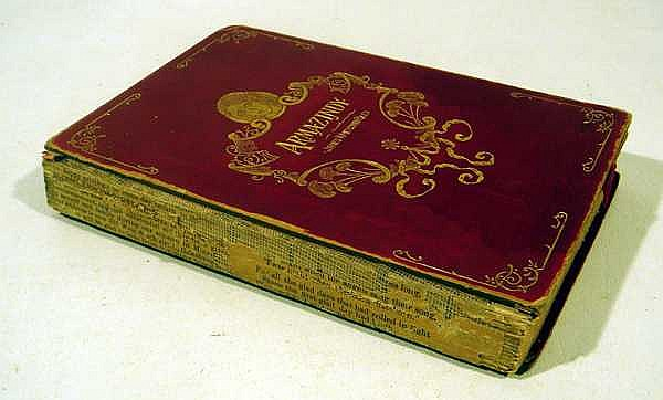 James Whitcomb Riley ARMAZINDY 1894 Author-Signed Limited Edition Antique Poetry Indiana American Literature Engraved Plates