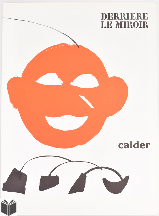 2pcs alexander calder vintage derriere le miroir 1960 1970 for Calder derriere le miroir