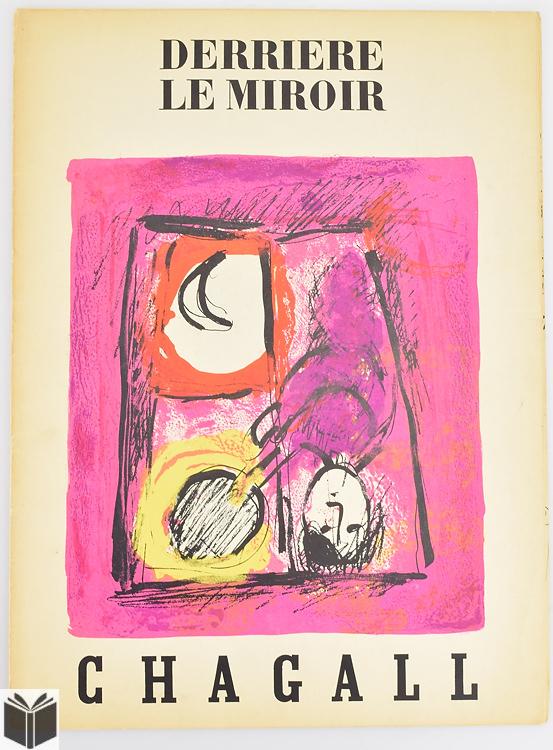 2pcs chagall marc vintage derriere le miroir 1950 1957 jean for Chagall derriere le miroir