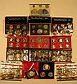 18 Pc. Numismatic PROOF & UNCIRCULATED COINS & SETS 1960s 1970s Silver Half-Dollars Bicentennial