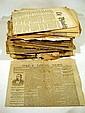 Antique 19th CENTURY NEWSPAPERS New York Washington Philadelphia West Chester PA Scientific American Harper's Weekly Civil War Lusitania