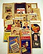 Vintage & Antique FOOD & CULINARY EPHEMERA Cookbooks Sugar Cube Matchbook Advertising All in the Family TV Show Chromolithographs Jello