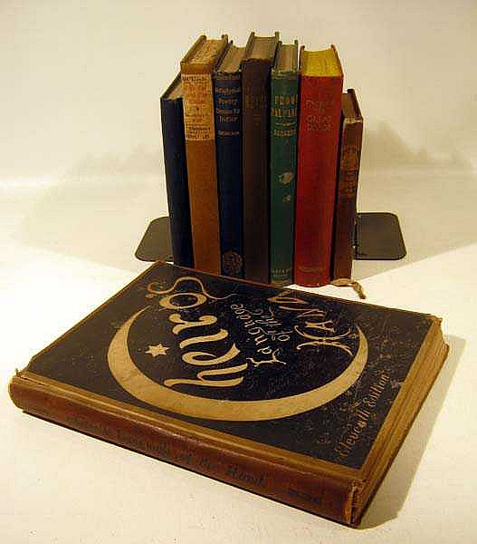 8V Clairvoyance Strickland Great Divide DECORATIVE ANTIQUE METAPHYSICAL MYSTICAL & OCCULT TITLES Volney Poetry Zodiac