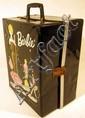 1962 Vintage BARBIE CASE & ORIGINAL WARDROBE Doll Clothes Accessories Snorkel Set Shoes Curlers Garter Belt