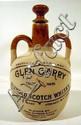 5 Pc. Vintage POTTERY WHISKEY JUGS Ceramic Crockey Bourbon Scotch Irish